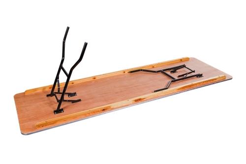 Klapptische / Banketttisch Woody eckig 243x76 cm