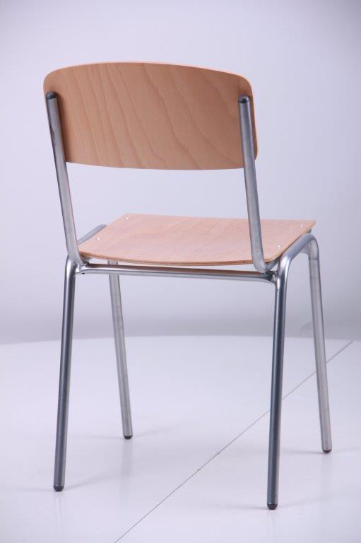 Stapelstuhl Flex grau